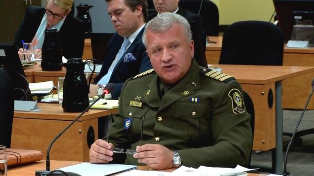 Mario Smith, ex-directeur intérimaire de la Direction des normes professionnelles à la Sûreté du Québec