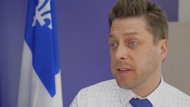 Martin Ouellet, député de René-Lévesque