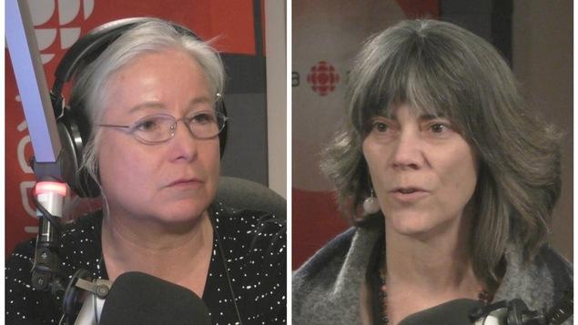 Martine Bordeleau et Carole Tétreault
