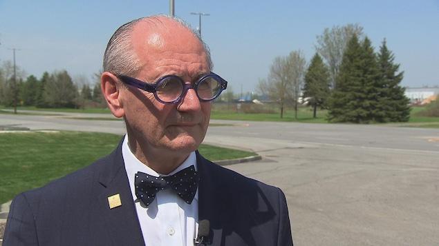 Maurice Richard, président-directeur général de la Société du parc industriel et portuaire de Bécancour