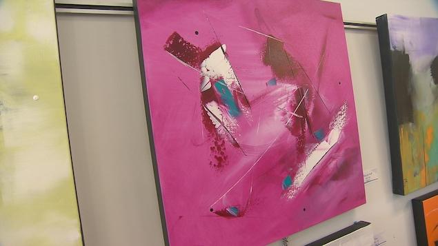 Des tableaux de Mégane Fortin, 9 ans