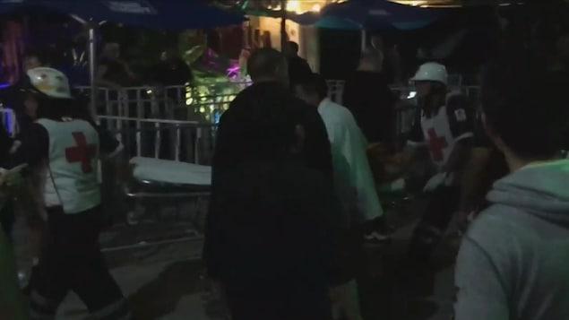 Un inconnu ouvre le feu lors d'un festival au Mexique, des victimes