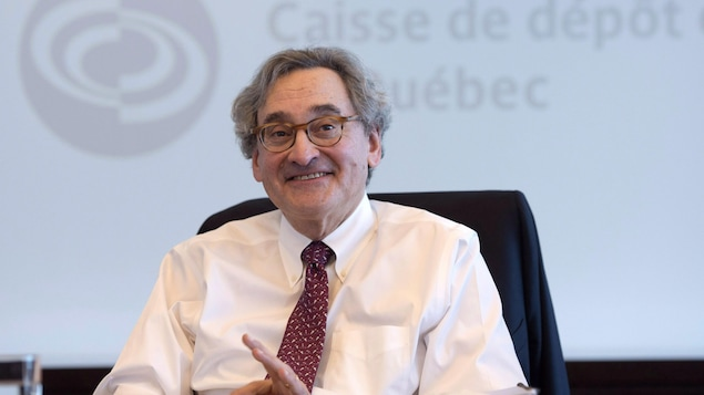 Michael John Sabia, PDG de la Caisse de dépôt et placement du Québec.