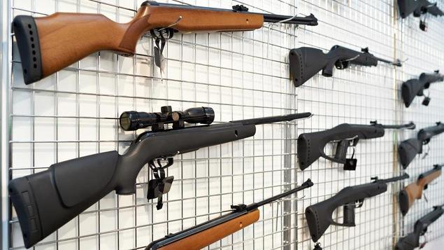 Des armes à feu