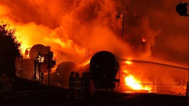 La tragédie ferroviaire qui s'est produit à Lac-Mégantic, a fait 47 morts dans la nuit du 5 au 6 juillet 2013.