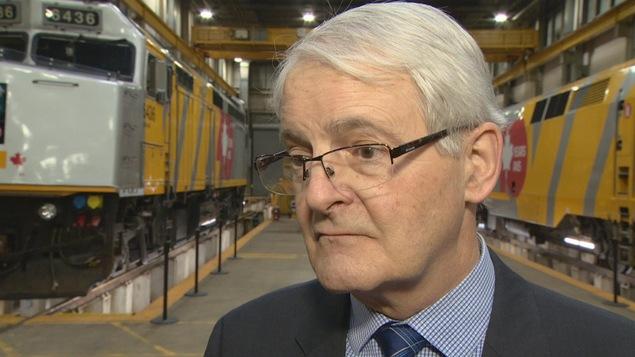 Le ministre fédéral des Transports, Marc Garneau, a annoncé le lundi 19 mars 2018, que son gouvernement allait débloquer un budget pour l'achat de 32 nouveaux trains bidirectionnels pour desservir le corridor Québec-Windsor exploité par VIA Rail.