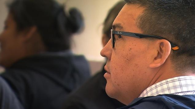 Mike McKenzie, chef de la communauté de Uashat-Maliotenam