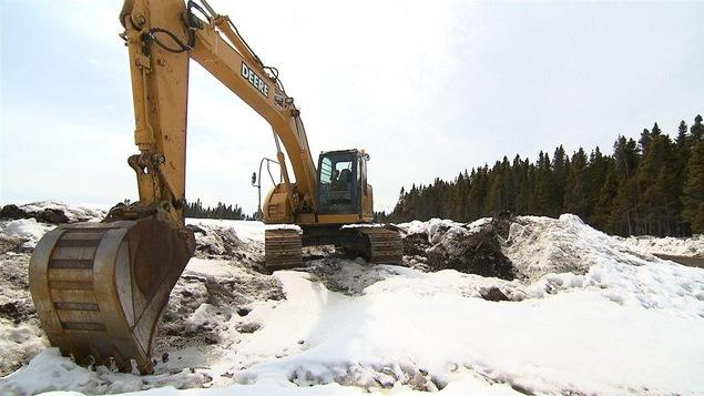 Le site du projet Mine Arnaud à Sept-Îles