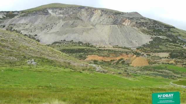 La mine Constancia de la HudBay au Pérou