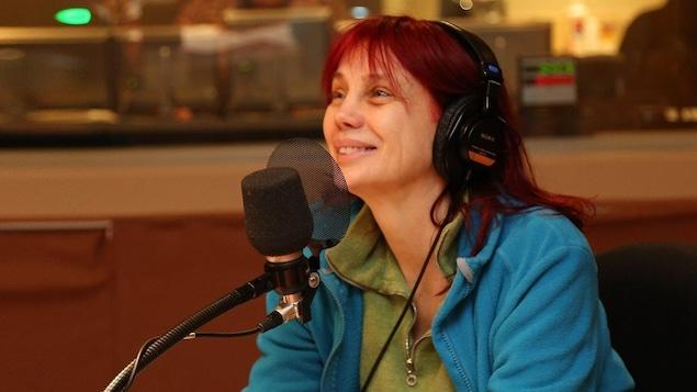 La chanteuse Chloé Sainte-Marie