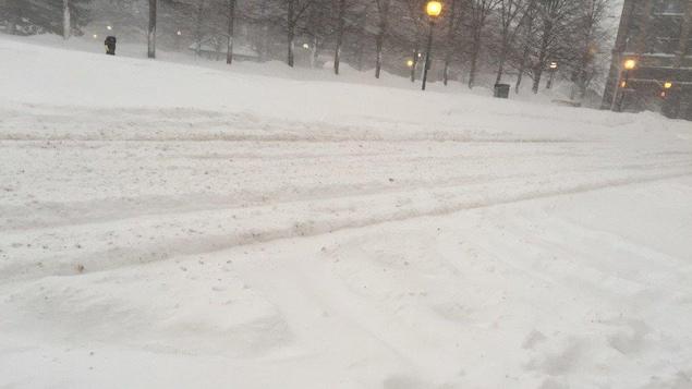 Environnement Canada prévoit une tempête de neige dans les prochains jours