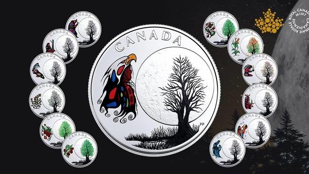 La série « Les treize enseignements de Grand-mère Lune » de l'artiste Frank Polson est tirée à 4 000 exemplaires seulement.