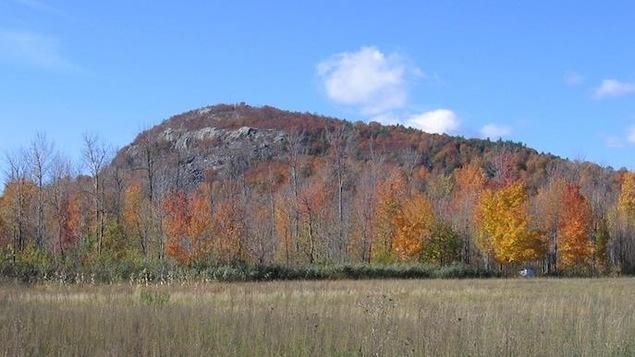 Le mont Saint-Grégoire