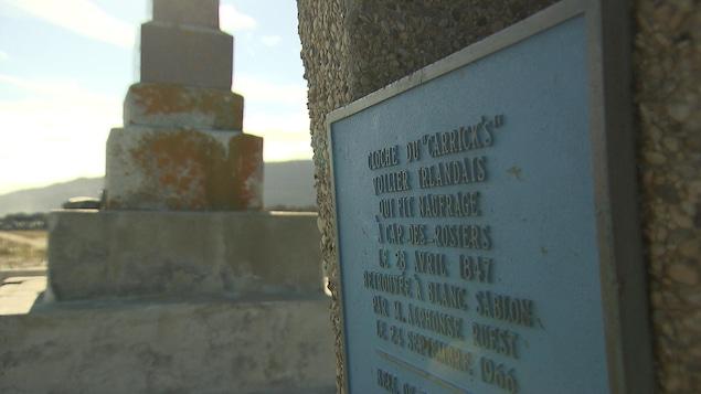 L'ancien site du Monument aux Irlandais