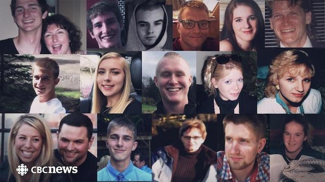 Les visages de Britanno-Colombiens qui sont morts à la suite d'une surdose au fentanyl.