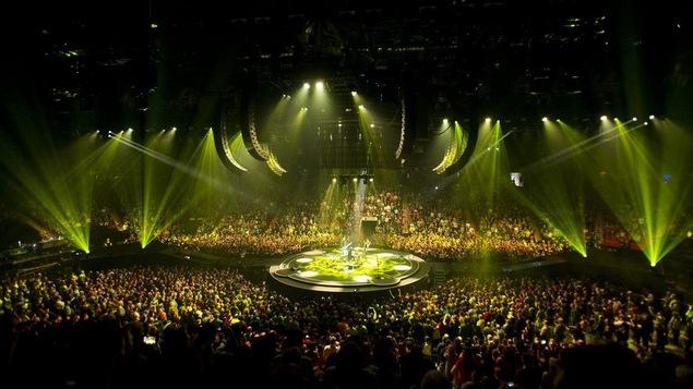 Le groupe britannique Muse en concert au Centre Bell