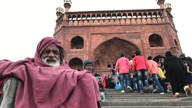 La mosquée Jama Masjid de New Delhi.