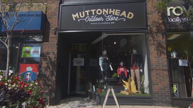La vitrine de la boutique Muttonhead