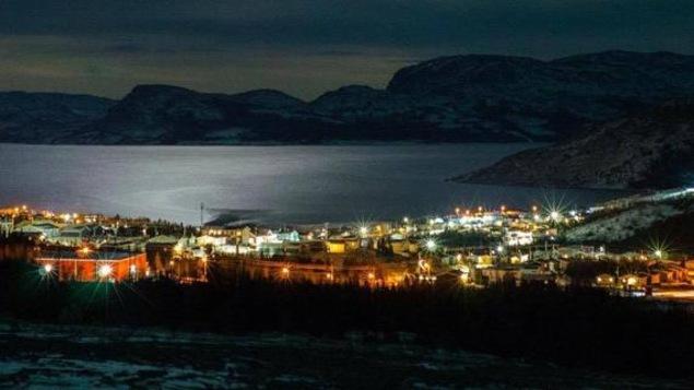 Panorama du village durant la nuit