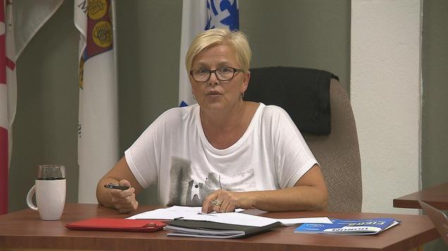 Nathalie Lévesque, mairesse de la municipalité de Saint-Pacôme, au Kamouraska