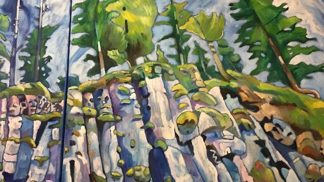 « Tow Hill » du peintre yukonnais Neil Graham