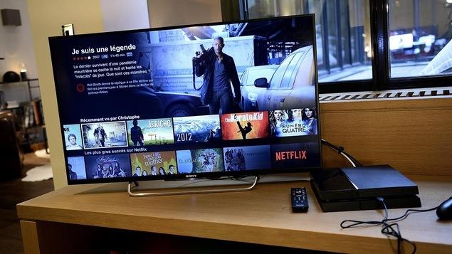 Le service de télévision en flux continu Netflix