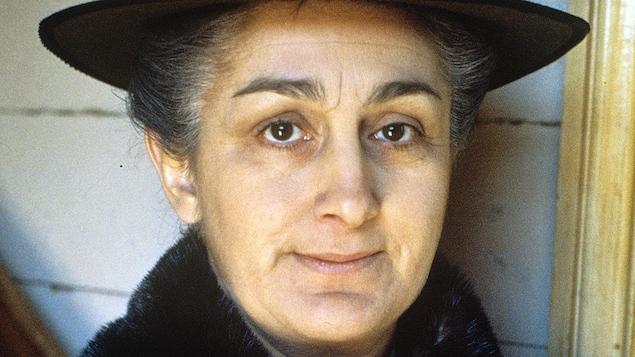 Nicole Leblanc en Rose-Anna St-Cyr dans « Le temps d'une paix »