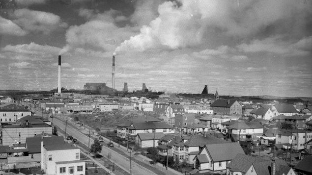 Xstrata Cuivre Canada, Fonderie Horne, photo prise entre 1927 et 1944
