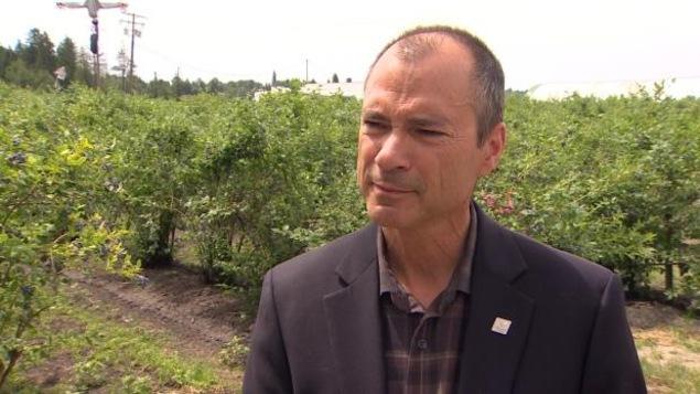 Le député et ministre de l'Agriculture en C.-B., Norm Letnick