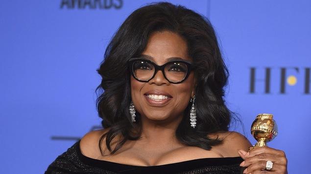 Oprah Winfrey a été la première femme noire à recevoir le prestigieux prix Cecil B. DeMille à la cérémonie des Golden Globes le 7 janvier.