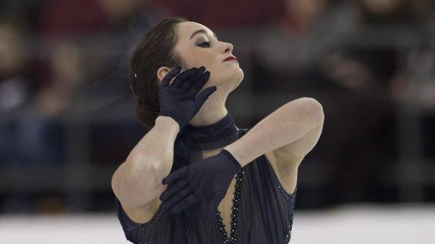Kaetlyn Osmond sur la patinoire