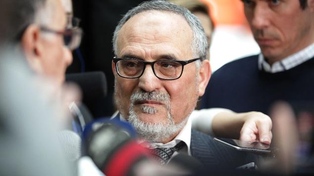 Mohamed Labidi, président du Centre culturel islamique de Québec.