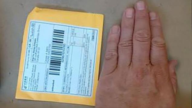 Un petit paquet que Postes Canada doit livrer