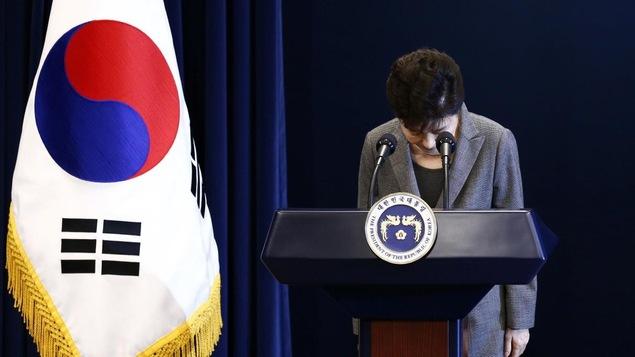 L'ex-présidente sud-coréenne Park Geun-hye