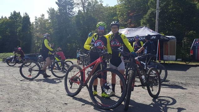 Des participants du Vélo Challenge 2017