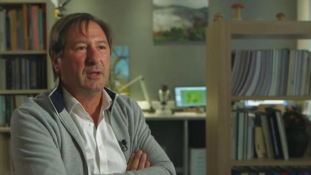 Patrick Laurent, expert mycologue