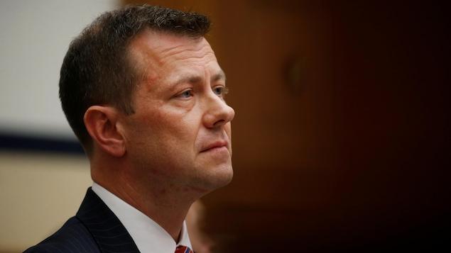 L'agent du FBI Peter Strzok