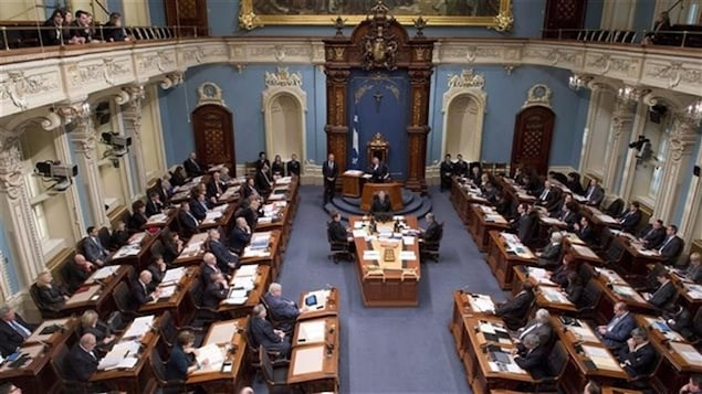 L'Assemblée nationale à Québec