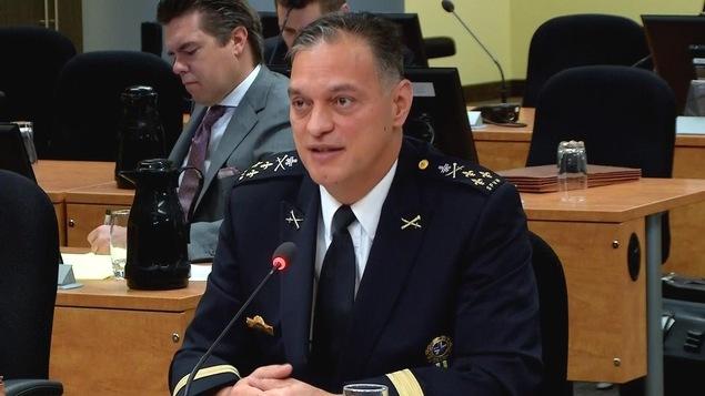 Le directeur du Service de police de la Ville de Montréal Philippe Pichet