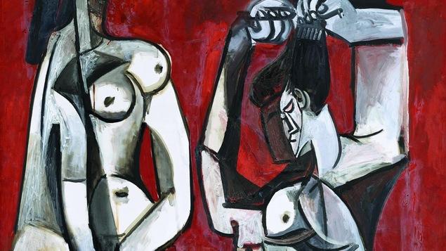 Tableau cubiste de Pablo Picasso de 1956.