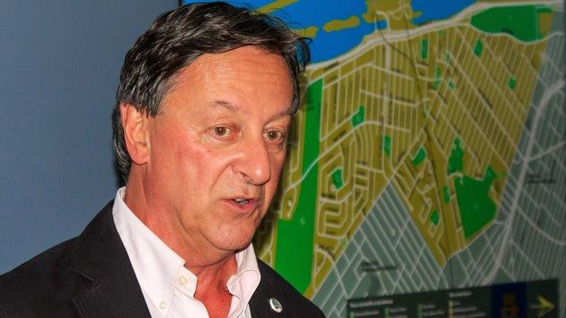 Pierre Brodeur est maire de Saint-Lambert depuis le 6 novembre 2017