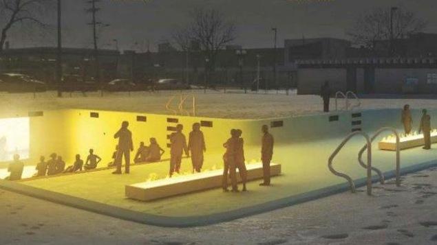 La proposition de Jean-Daniel Mercier et d'Alexandre Guilbeault pour utiliser les piscines publiques en hiver.