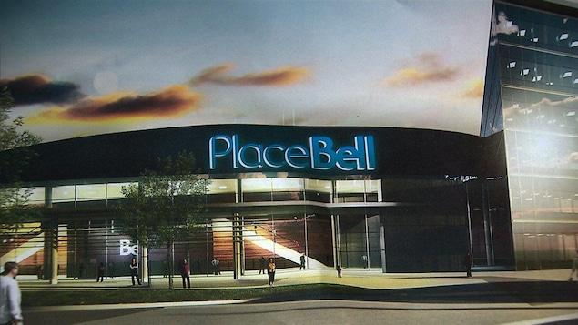 Le projet de la Place Bell à Laval