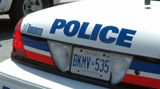 Une autopatrouille de la police de Toronto.
