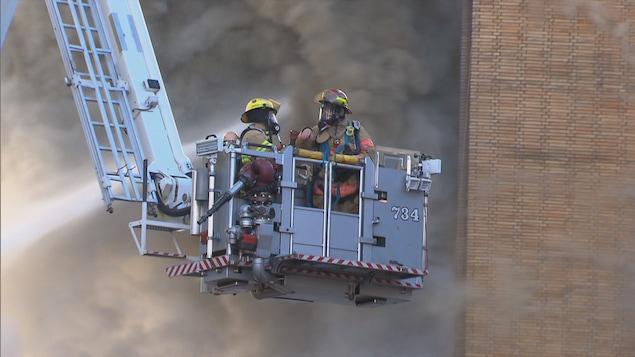 Les pompiers sont plus à risque d'avoir un cancer que le reste de la population.