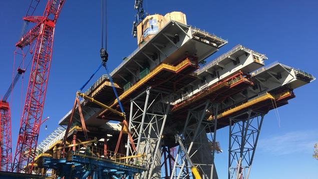 Construction du nouveau pont Champlain:Entrevue avec Glen Carlin