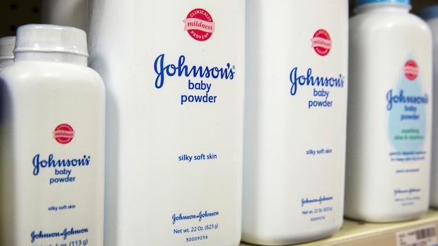 Poudre pour bébé Johnson et Johnson