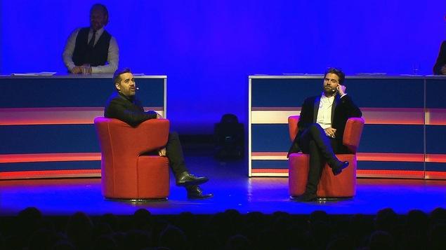 Jean-Sébastien Girard et Jean-Philippe Wauthier dans « Prédictions 2017 »
