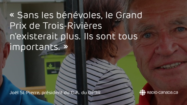 Joël St-Pierre, président du conseil d'administration du Grand Prix de Trois-Rivières