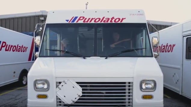 Photo de camions de Purolator